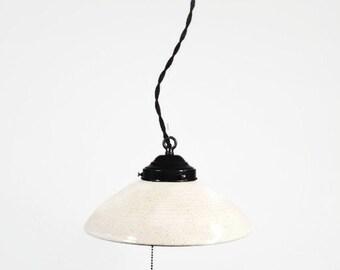 Hanging Pendant Light - Pendant Light-Pottery-Ceiling Light - Lighting