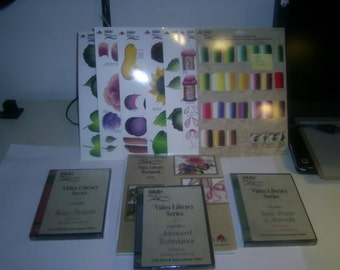 Plaid One Stroke RTG (7) & DVD Library Series Vol 1-3 and Workbook