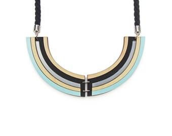 Rhythm Necklace - Pastel Blue