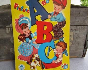 Vintage 1948 ABC Picture Book Vivian Robbins