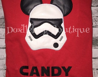 Storm Trooper Mickey Mouse shirt