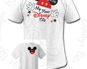 My First Trip To Disney Shirt - Personalized