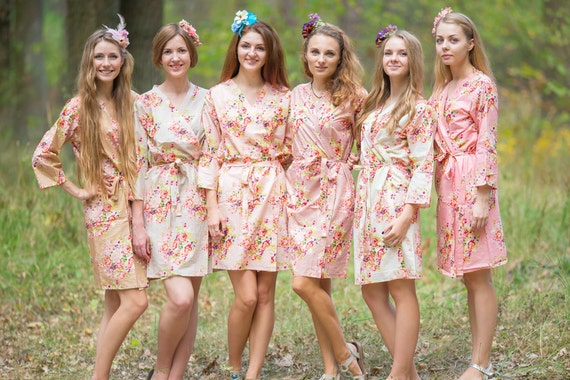 items similar to blush and nude wedding colors bridesmaids