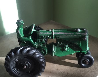 Vintage Minneapolis Moline Steam tractor toy