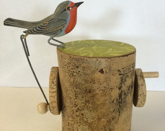 Pecking Robin