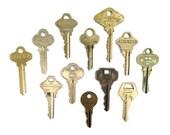 12 keys Vintage key collection Vintage stamping keys Antique keys Old house keys Old keys for stamping Blank keys Blank side  A1 #15