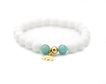 JADE,Mala Bracelet,Beaded Bracelet,Gemstone Bracelet,Yoga Jewelry,Inspirational Jewelry,Healing Jewelry, Gift for Her