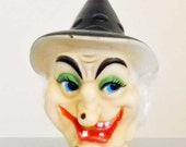 Witch Doll Head Plastic  Doll Making Supplies