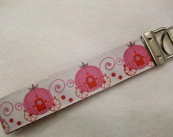 Key Fob Wristlet Style, Princess Carriage
