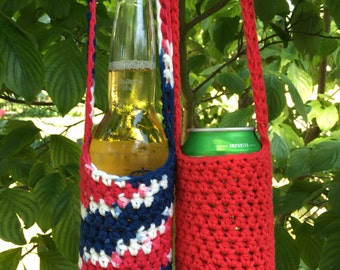 Lush Bottle can cozy lanyard necklace