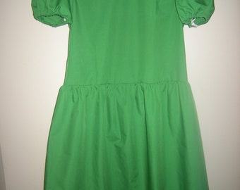 Green, purple and orange  kids size dresses all the same as Lucy Van Pelt dress ORDER for Leandra