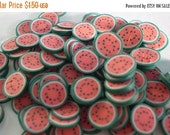 50% OFF - WHOLE WATER Melon - 145 Polymer Clay Slices