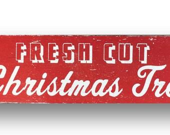 Fresh Cut Christmas Trees 7 x 26