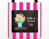 Mother of the Bride Bag, Personalized Wedding Gift, Wedding Gifts, Bridal Totebag, Mother of the bride totebag, Bridesmaid Bags