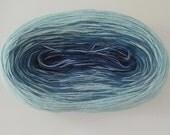 DENIM MEDLEY II  Color Changing Cotton yarn  480 yards/100 gr  Fingering Weight