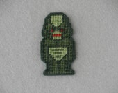 Creature from the Black Lagoon / Monster / Plastic Canvas Halloween Magnet