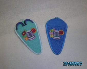Scissors case Embroidered