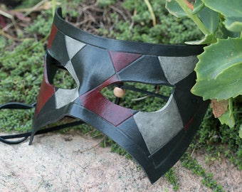 Leather Masquerade Mask