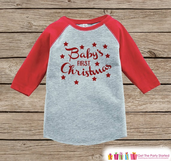 Baby Christmas Shirt - Kid Holiday Shirt - First Christmas Shirt or ...