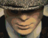 Peaky Blinders Cillian Murphy counted Cross Stitch Pattern detailed digital download