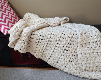 LH no. 4 Chunky Crochet Blanket
