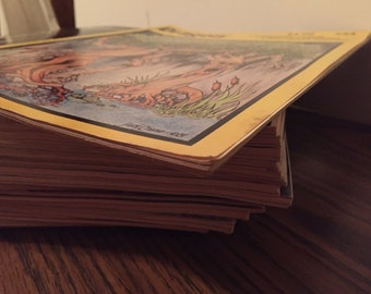 34 Dragon Magazines (some loose covers, 2 w/ copied covers, 3 in mailing sleeve) 54,60,63,65,66,67(2),68,73,74,76,77,78,81,89,90, +
