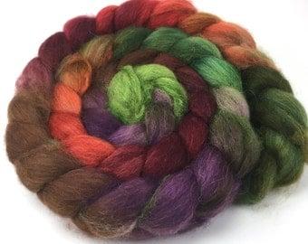 Spinning Fiber - Baby Alpaca Combed Top - Autumn Harvest Roving