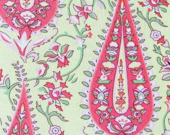 Amy Butler Cotton Fabric- Cypress Paisley in Lime
