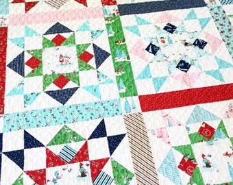 Joyful Quilt Pattern - PDF - Tasha Noel