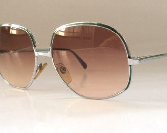 80s Vintage German Big Round Rodenstock Frame Sunglasses