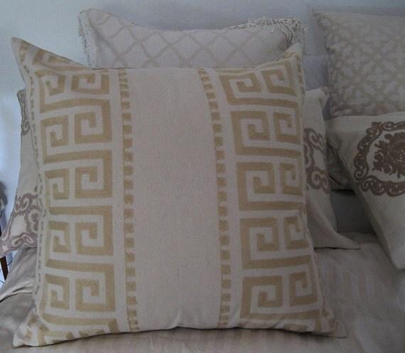 Decorative Bed Pillows Shams : Cotton Pillow Shams Cotton Pillow Sham by SPCustomDrapery