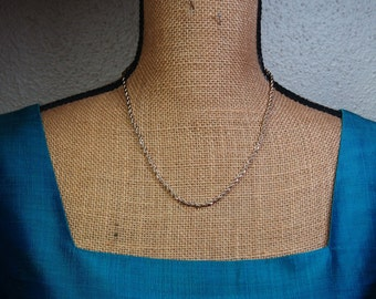 Quality 24 Karat Gold Filled Woven 4mm Chain Necklace