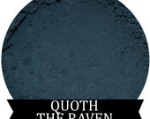 QUOTH THE RAVEN Matte Dusky Blue Eyeshadow Edgar Allan Poe Fall Halloween shade