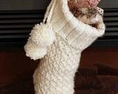 Crochet PATTERN Brighton Christmas Stocking - Crochet Christmas Stocking Pattern With VIDEO SUPPORT
