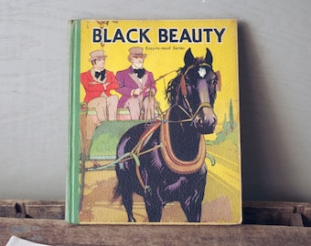Black Beauty HB BOOK 1934 Easy To Read Series Anna Sewell