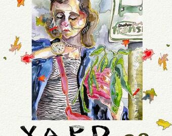 Yard Sale 28 zine