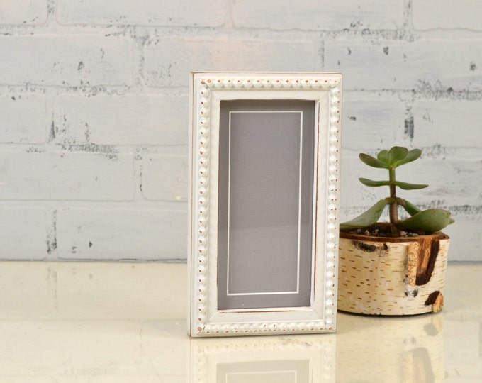 """4x8 Picture Frame for 2x6"""" Photo Booth Strip in Bumpy Style and Color OF YOUR CHOICE - Photo Booth Frame - 2x6 Wooden Picture Frame"""