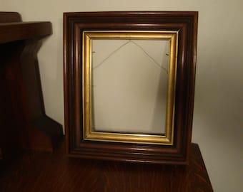 Victorian Walnut Frame Gilded and Ebony highlights