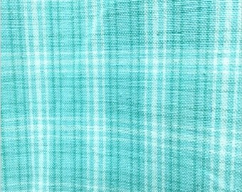 Dunroven Tea Towels Blue Check Towel  Art to Heart AH-038 Turquoise towel
