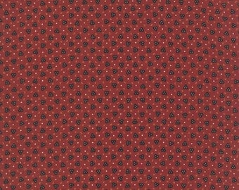Fabric Red Civil War Fabric by the yard Quilt Fabric Quilting Bramblewood Red Floral 31522 16 Cotton Sewing Moda