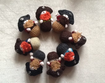 Hand knitted Pirates x