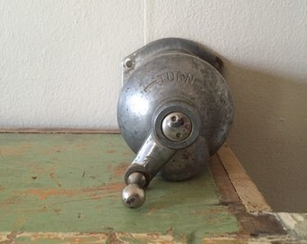 "Original  late 1930's american antique industrial flush mount ""soapitor"""""