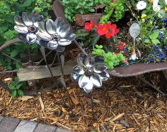Lotus  Flower Garden Art