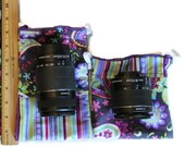 CUSTOM Size for Lenses dSLR camera Pouch CANON Nikon Gift for Photographer