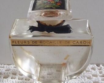 Vintage Perfume Bottle Fleurs de Rocaille de Caron