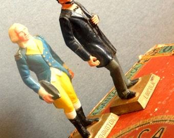 U. S. President figurines/Lincoln and Washington figures figurines