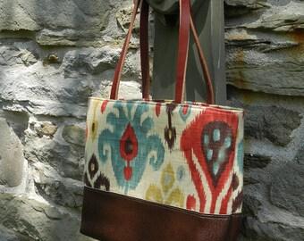 Best Seller Leather Shoulder Bag Metro Bag Knitting Project Bag -  Persian