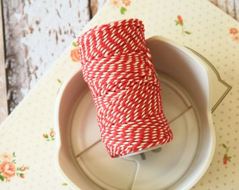 Beefeater RED Cotton Bakers Twine 20m