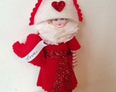 Valentines Day Pirate Girl PDF Pattern and Instructions