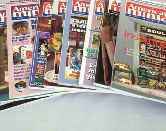 2005 American Miniaturist  Magazine Collection- 10 Issues-Like New Condition